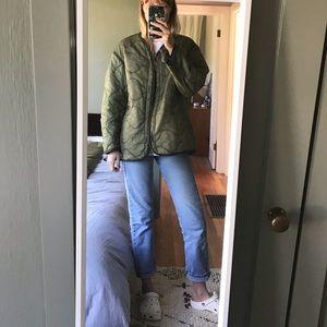 Vintage Military liner jacket